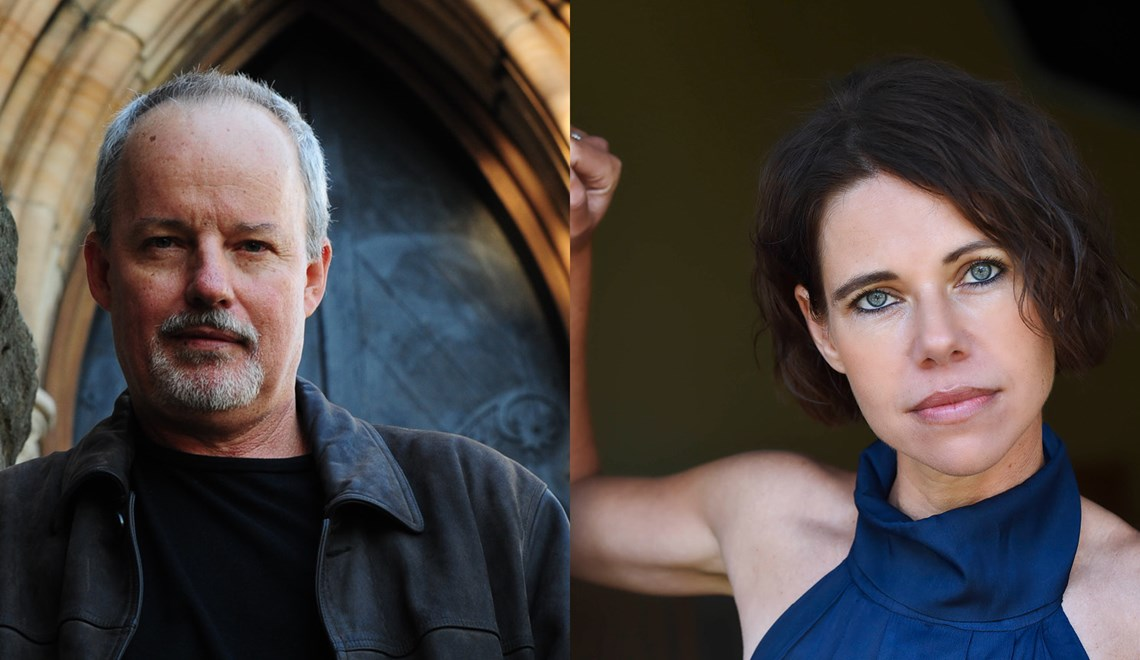 Michael Robotham and Felicity McLean