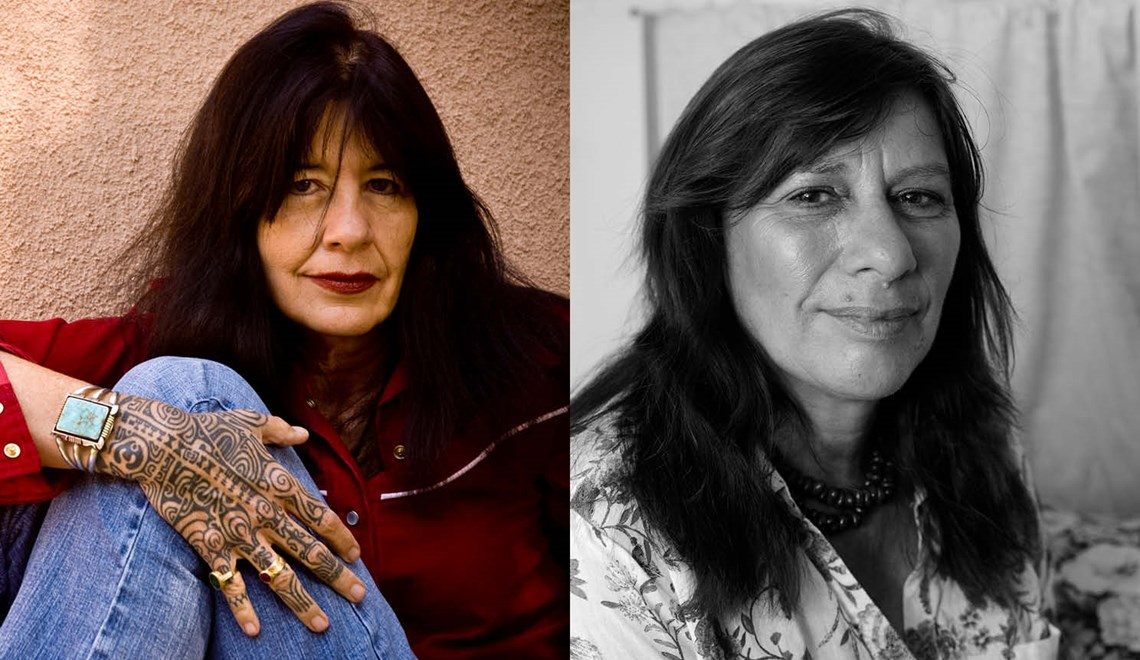 Joy Harjo and Ali Cobby Eckermann